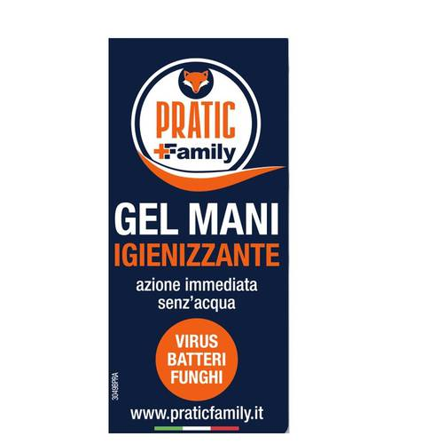 Pratic Family 5 liters hand sanitizer and disinfectant gel