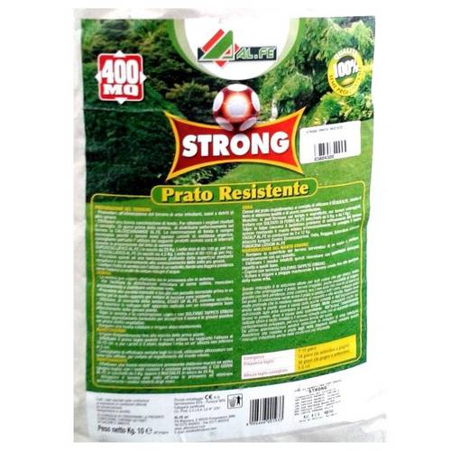 Lawn seed resistant STRONG 10 Kg Al.Fe
