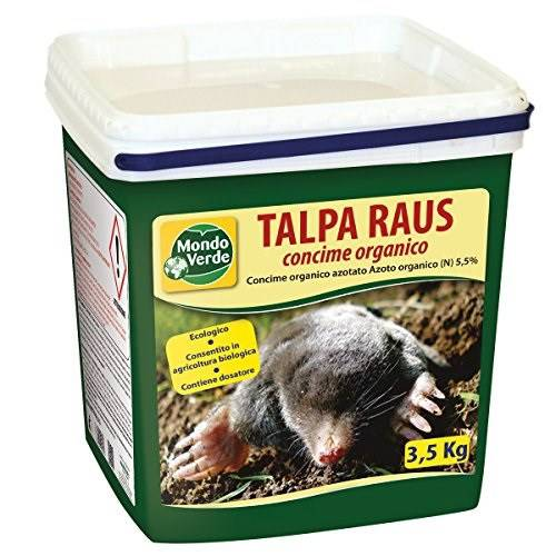 Organic Fertilizer Anti Mole TALPA RAUS 3,5 Kg Green World