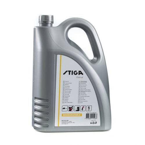 Mineral Oil for Chain Saw Biodegradable 5 Lt 1111-9247-01 Stiga