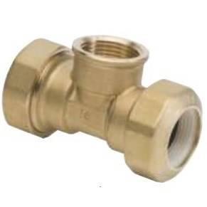 Tee c / derivation F for polyethylene pipe Art.186