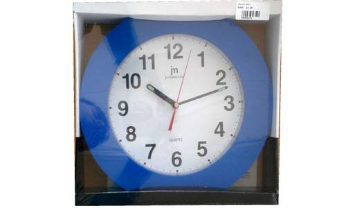 Clock Basic 30x30 Justaminute Lowell
