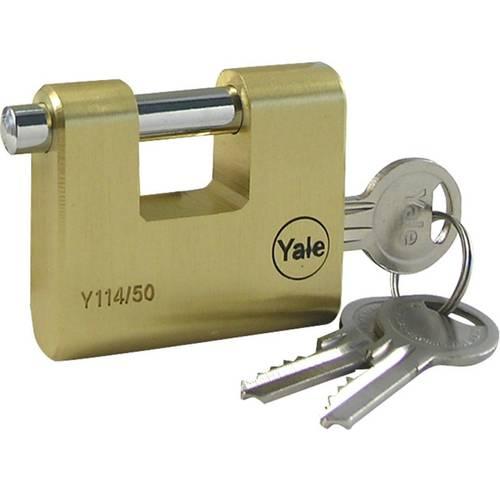 Rectangular Brass Pad mm.50 KA Yale