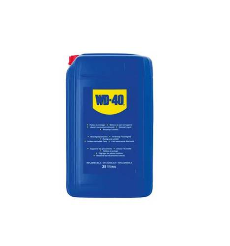 WD-40 Multipurpose Lubricant Unblocking Canister with Doser 5 Liters 55401 WD40