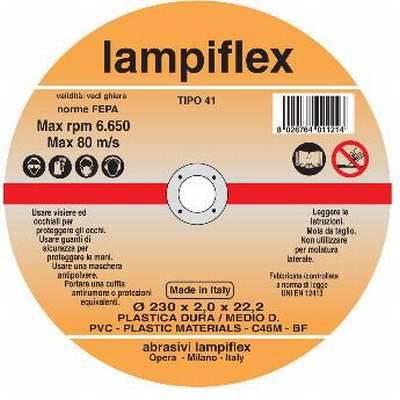 Disc Cutting Plastic Lampiflex