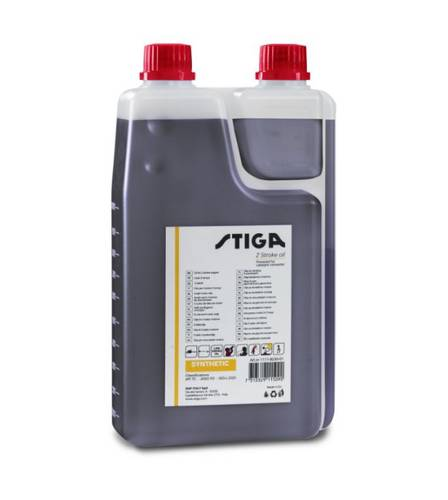 Synthetic Oil Blend for Motor Brushcutter Chainsaw 2T Stiga