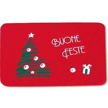 "Carpet Christmas ""Firs"" cm.50x75"