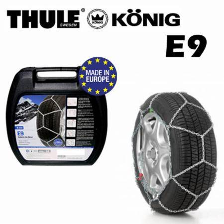 Snow Chains Thule E9 König 9mm Group 080