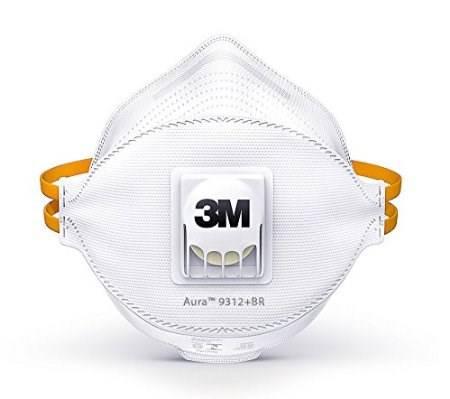 Respirator Mask for Dust 3M 9312+ Aura
