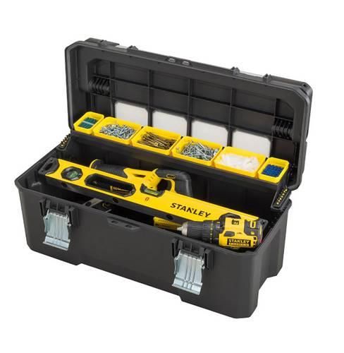 Toolbox PRO FATMAX tools Stanley metal hinges