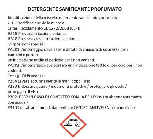 Detergent Pavimenti Lava & Incera Mediterraneo 1Lt Nuncas