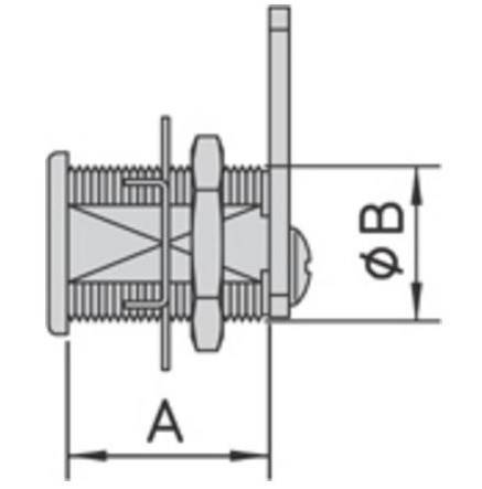 Universal lock with barrel Decentralized 1062.90 Viro
