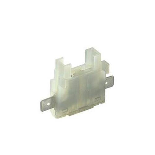 Blade fuse holder with lateral fastom 11370