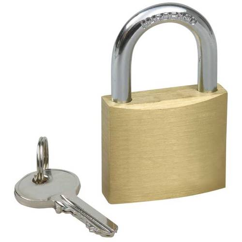 Padlock Arc Brass KA (Key Alike) IBMF