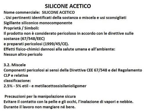 Acetoxy silicone Multipurpose Transparent 280 ml Fischer