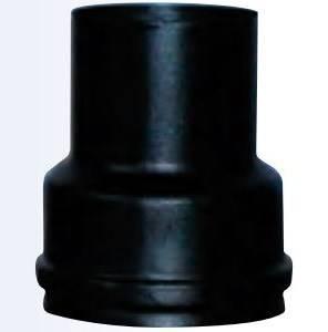 Ruduzione Pellet Stove Pipe Black Smalbo