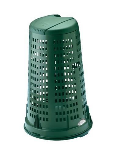 Perch Green garbage bag holder 100 Liters Stefanplast