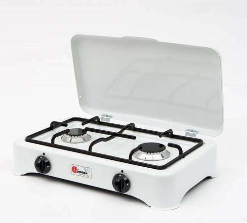Gas cooker with 2 burners 5326CGP Parker