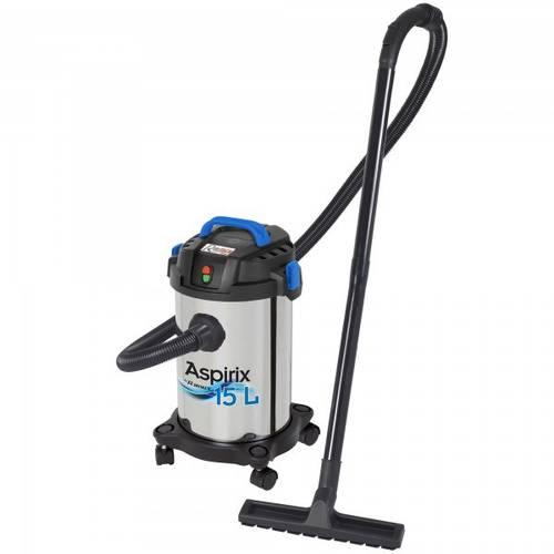 1000W 15lt 1000W Solid Powder and Liquid Dust Extractor Ribimex