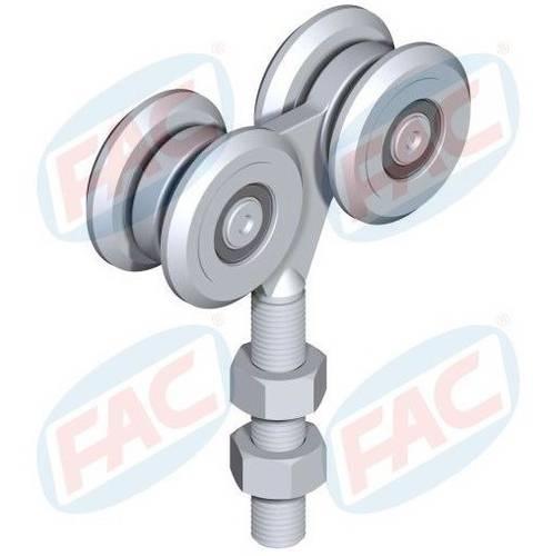 Shopping Slide 4 wheels with bearings VB3212.055 FAC