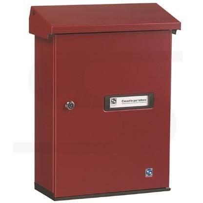 Mailbox Red Serenissima 10-517.82 Silmec