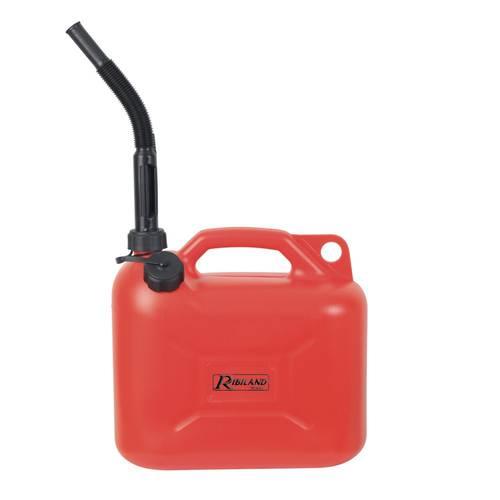Jerrycan Bin for Fuel Transfer in Red Polyethylene 20 Liters PRJE20 Ribimex