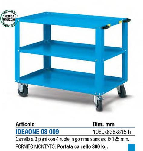 Cart 3 Plans IDEAONE 08,009 Mial