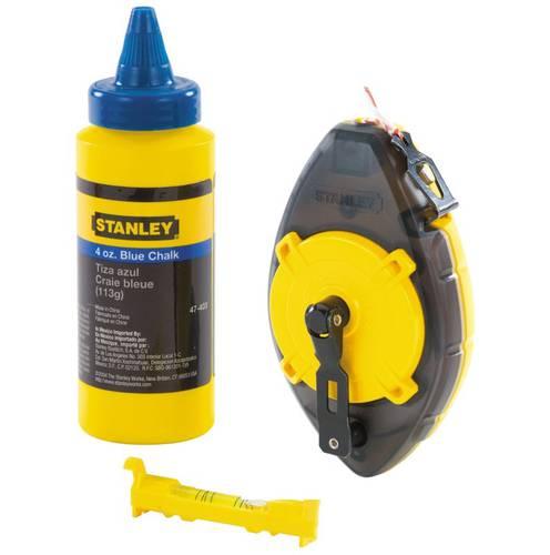 Plotter Powerwinder 30 meters + Powder Blue and Spirit Level Stanley 0-47-465
