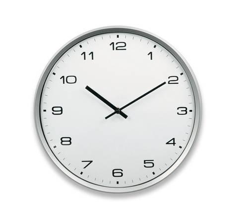Silver Silver NIJI Wall Clock 33 cm