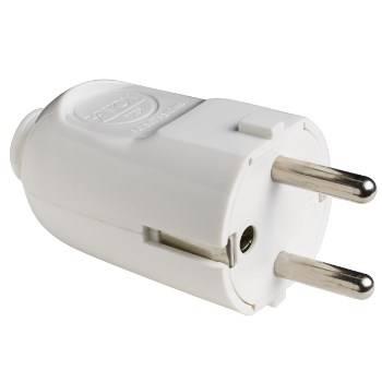 Franco / German plug 2P + T 16A Removable 80070 Fanton