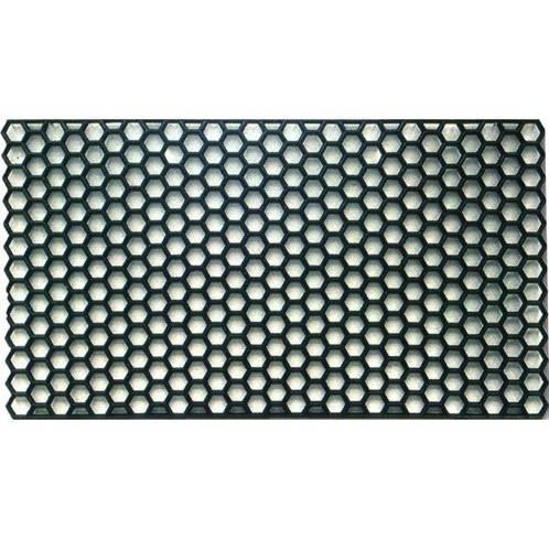 """Doormat """"Hexagonal"""" PVC cm.40x70 Alcom"""