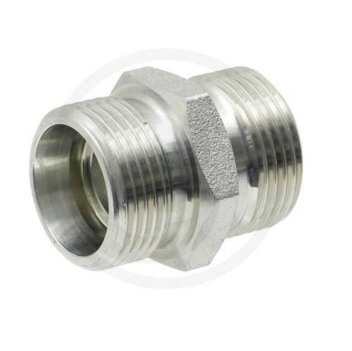 Straight Threaded Fitting X-GV 06 M12x1.5 Art. 87000320 Granit