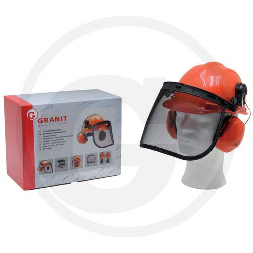 Helmet combined Forestry Using Granit 52470003