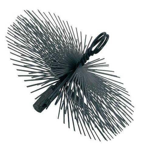 Round Steel Brush ø 150 mm for Cleaning Caminio