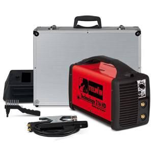Welder Electrode Technology 216HD + 230 Acc. Telwin 816206
