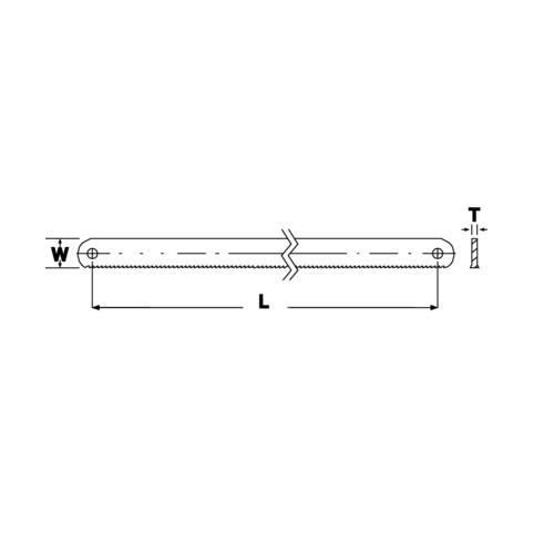 Bi-Metallic Machine Saw Mod. 3809-500-50-2.50-8 Bahco