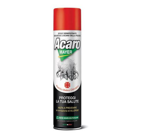 Acaromayer 400ml Sanificante Acaricida Spray Mayer Braun