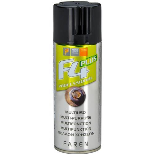 Multipurpose Spray Lubricant Unlocking F4 400ml Faren 974