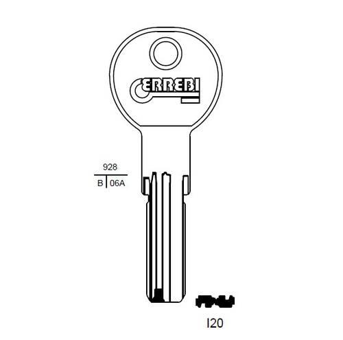 Iseo I20 Errebi Key
