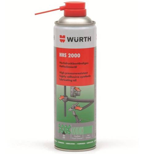 Lubricant Adhesive Spray Universal HHS 2000 Wurth 500ml