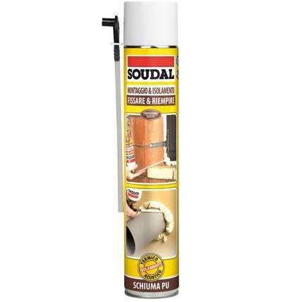 Universal Manual Polyurethane Foam 750 ml Soudal