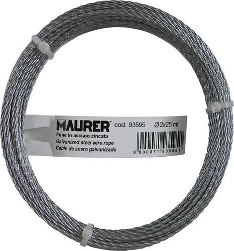 Rope Commercial Steel Zinc. Maurer