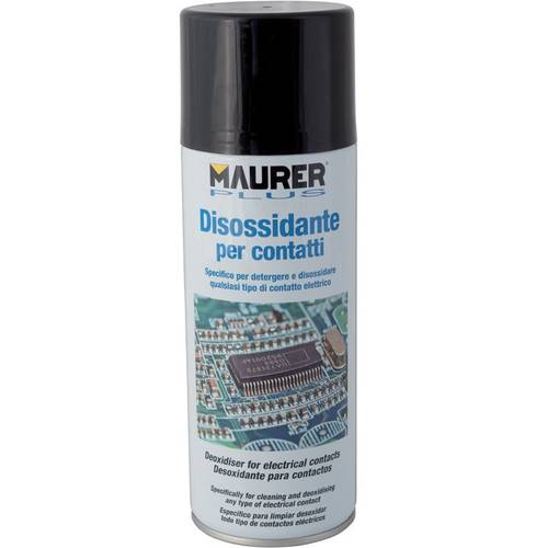 Deoxidizing Spray for Electrical Contacts 400ml 53262 Maurer Plus