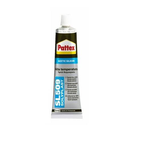 PATTEX Acetic Silicone Sealant SL 509 High Temperature Red 70ml Henkel
