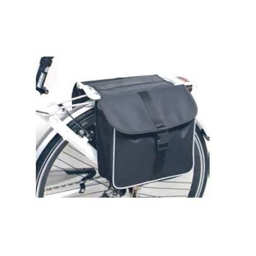 CITY Dieffe Black Canvas Bicycle Bag