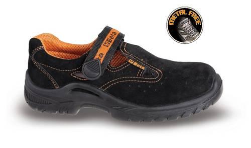 Anti-Perforation Leather Sandals 7216BKK Beta