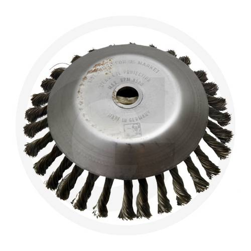 Conical Brush for Brushcutter ø200mm Hole 25.4mm 13271224 Granit