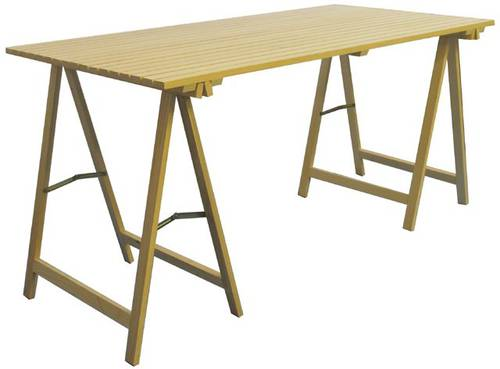 Table Kit +2 Maurer Wood Standers Art.99720 150X75X75