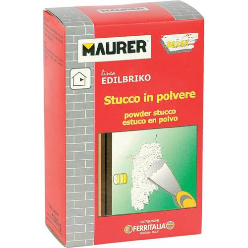 Stucco in Polvere 5Kg Edilbriko Maurer 086267