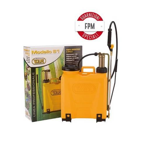 Knapsack Sprayer for Weeding UNI 12L Pumping element Brass Mod.81 12 Liters Volpi 81UG